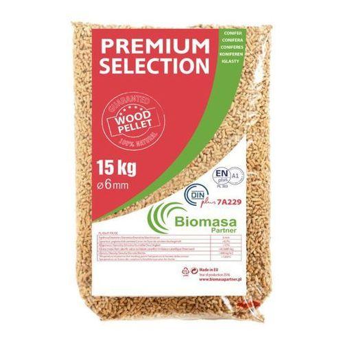 Pellet drzewny Premium Din Plus 6 mm 15 kg, PELLET PREMIUM