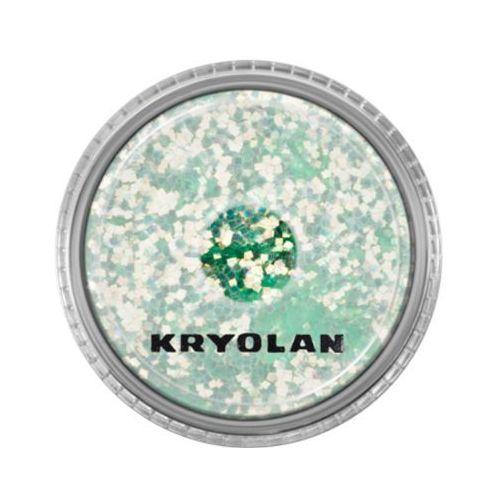 polyester glimmer coarse (pastel green) gruby sypki brokat - pastel green (2901) marki Kryolan