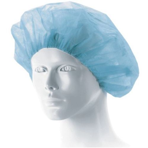 Czepek pielęgniarski  -beret, niebieski, jałowy -1szt. wyprodukowany przez Matodress