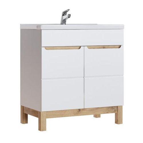 Szafka łazienkowa 80 cm pod umywalkę kolekcja bali marki Comad