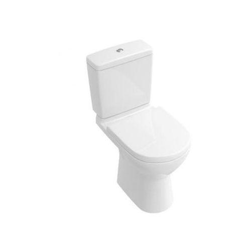 Villeroy & Boch O.Novo Miska ustępowa lejowa do WC-kompaktu 36x67 cm, odpływ poziomy - Weiss Alpin 56611001 - sprawdź w wybranym sklepie