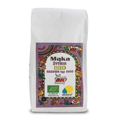 Bio babalscy Mąka razowa żytnia typ 2000 1 kg