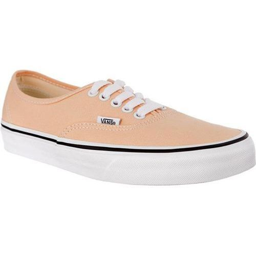 Vans AUTHENTIC U5Y BLEACHED APRICOT TRUE WHITE - Buty Sneakersy
