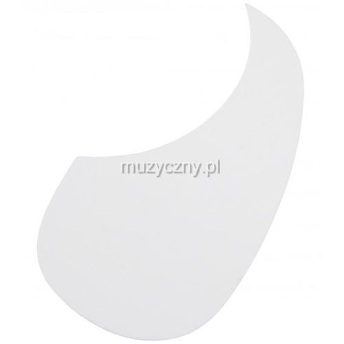 Boston AG 100 W pickguard, łza white