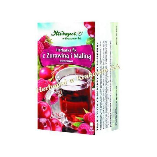 Herbapol Herbatka fix z żurawiną i maliną