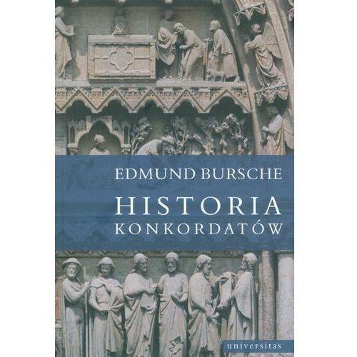 Historia konkordatów, oprawa broszurowa