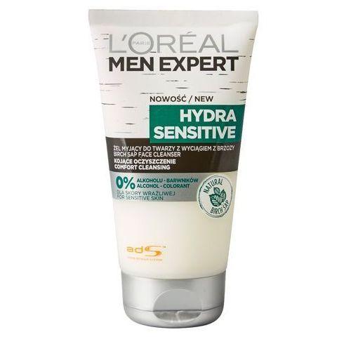 L'oreal L'oréal - men expert - hydra sensitive - żel myjący do twarzy z wyciągiem z brzozy - skóra wrażliwa