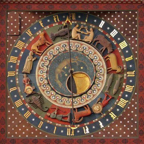 fototapeta Gdańsk zegar astronomiczny 309, Wally - piękno dekoracji z Wally - piękno dekoracji
