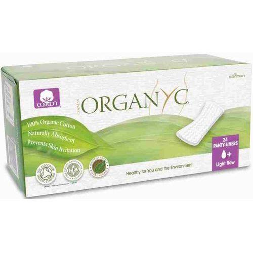 Organyc Cienkie wkładki higieniczne z bio-bawełny (♠+)