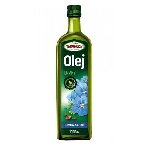 Olej iniany - tłoczony na zimno 1000 ml marki Tar-groch-fil sp. filipowice 161, 32-840 zakliczyn, polska, dystrybuto