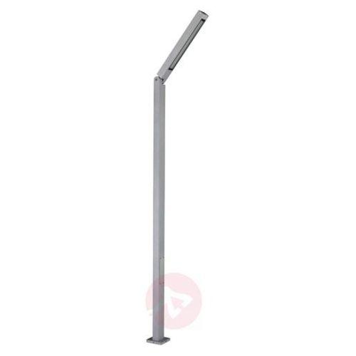 Wychylna latarnia LED Power Tiogo srebr