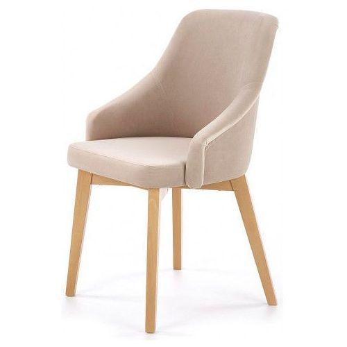 Krzesło drewniane Altex 2X - beż + dąb miodowy, V-PL-N-TOLEDO_2-D.MIODOWY-SOLO252