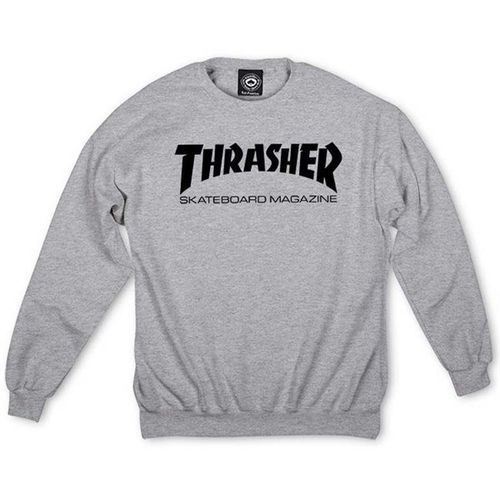 Bluza - skate mag crewneck gray (grey), Thrasher