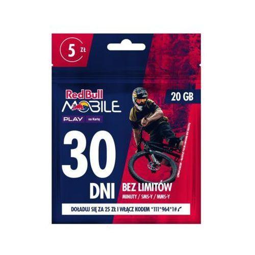 Starter PLAY Red Bull Mobile 20GB/5PLN