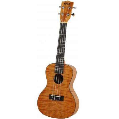 exotic mahogany ukulele koncertowe z pokrowcem marki Kala