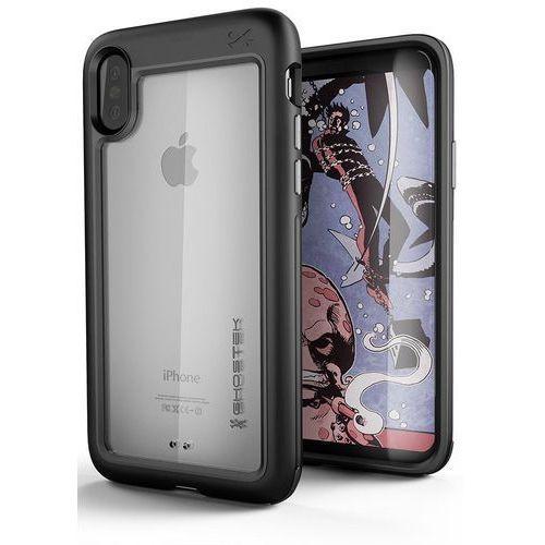 Etui Ghostek Atomic Slim iPhone X Black, kolor czarny