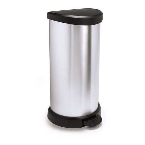 Curver Kosz na śmieci 40 l (metalizowany) , kategoria: kosze na śmieci