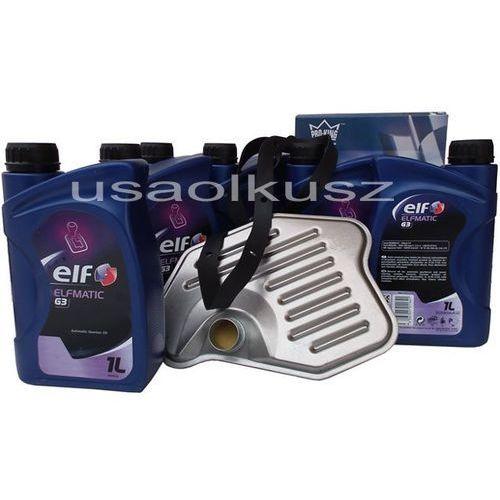 Filtr oraz olej ELF G3 automatycznej skrzyni biegów Lincoln Mark LT 5,4