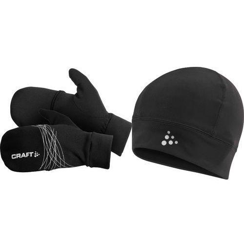 CRAFT 1901819-9999 zestaw czapeczka Thermal + rękawiczki Hybrid - produkt dostępny w Mike SPORT