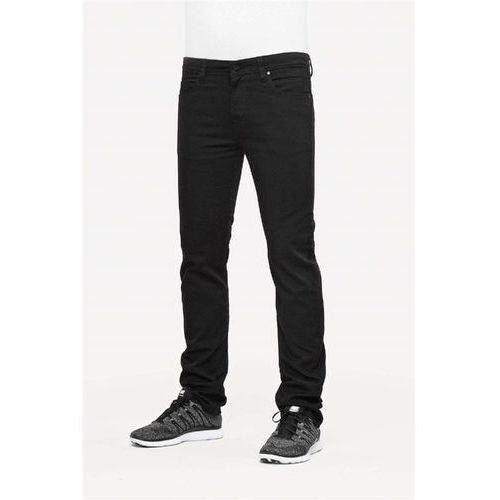 spodnie REELL - Skin 2 Black (BLACK) rozmiar: 32/32, kolor czarny