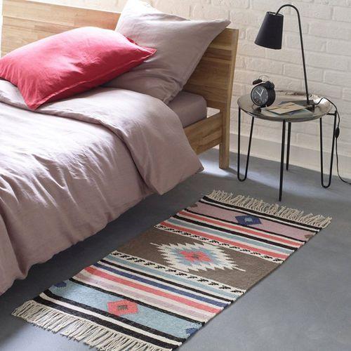 Dywanik przed łóżko, Kilim, 100% bawełny - oferta [05ef247ff79144c2]
