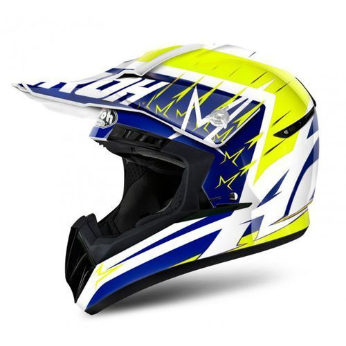 Airoh switch startruck yellow gloss kask off-road