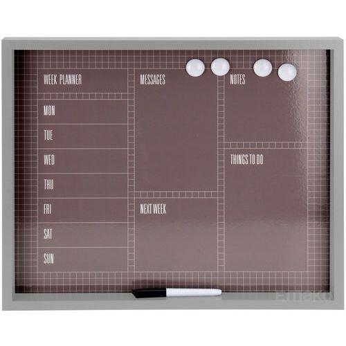 Emako Tablica magnetyczna na notatki memoboard + pisak, 4 magnesy (5902891241874)
