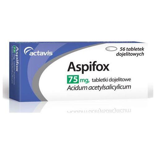 Actavis Aspifox 75mg x 56 tabletek, kategoria: pozostałe zdrowie