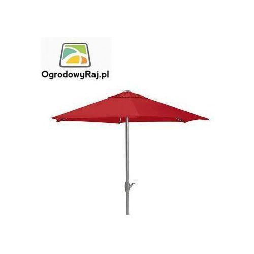 Parasol z korbką Ø 300 0106042-0500 (parasol ogrodowy) od OgrodowyRaj.pl