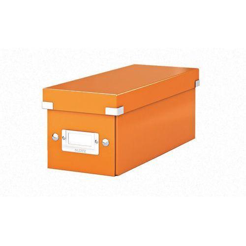 Pudło na CD Leitz Wow 6041-44 pomarańczowe