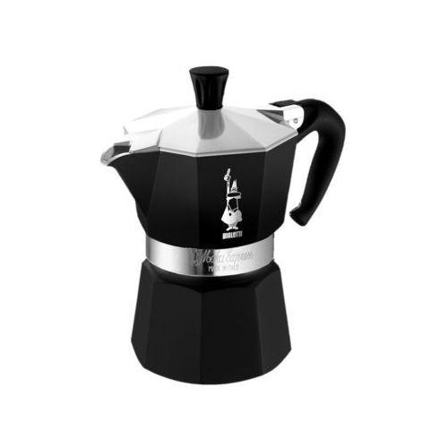 Bialetti kawiarka Moka Colour 6 tz czarna