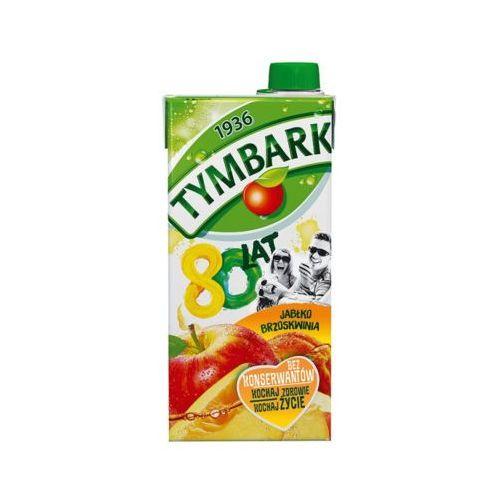 1l jabłko-brzoskwinia napój marki Tymbark