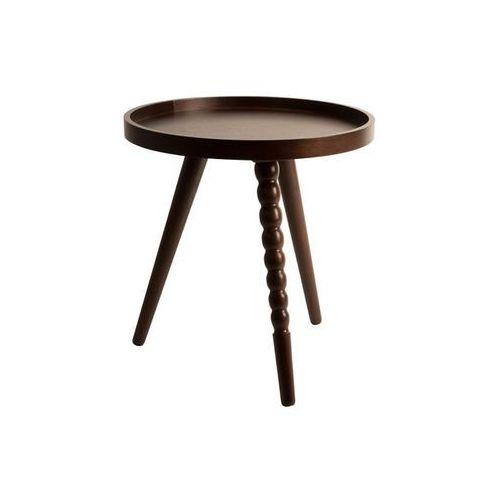 Stolik kawowy okrągły arabica - różne rozmiary - s: 45 wys. x 40 szer. x 40 gł. marki Dutchbone