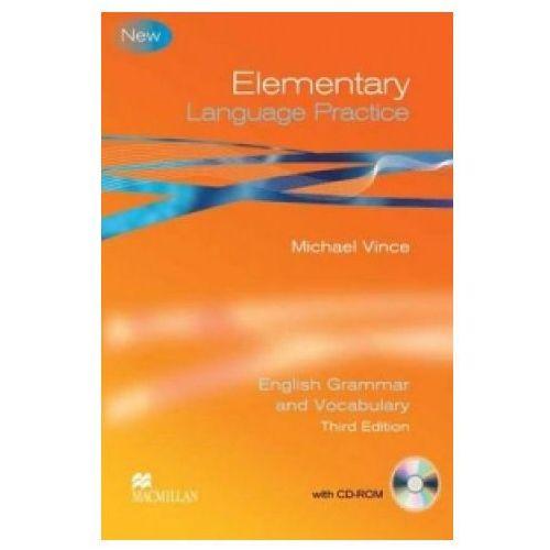 Elementary Language Practice Student's Book without key + CD-ROM Macmillan, oprawa miękka