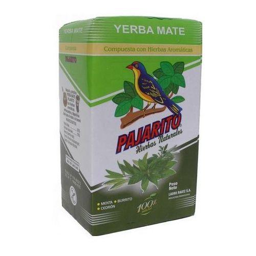 Yerba mate pajarito ziołowo miętowa 250g marki Yerba mate pajarito, paragwaj