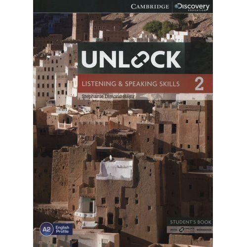 Unlock: Listening & Speaking Skills 2. Podręcznik + Online Workbook (224 str.)