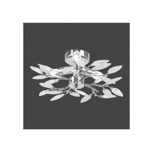 Plafon LAMPA sufitowa VIDA 63160-4 Globo OPRAWA chrom, kolor Srebrny