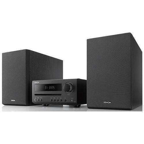 d-t1 czarny - mini wieża stereo z odtwarzaczem cd  raty 0%   gwarancja 3-lata marki Denon
