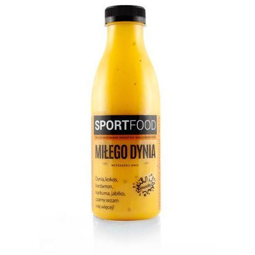 Miłego dynia sok owocowy z mlekiem kokosowym / soki coldpress / dostawa w 24h / detoks sokowy / dieta sokowa marki Sportfood