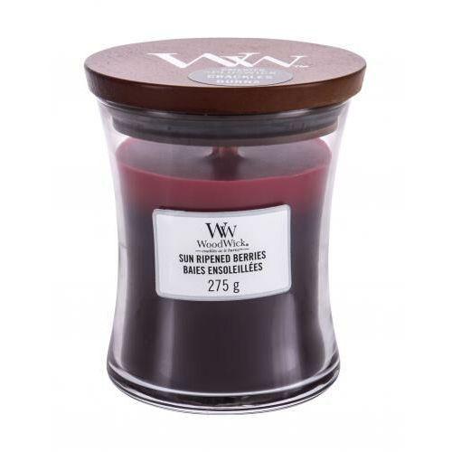 WoodWick - Sun Ripened Berries - potrójna świeca zapachowa - dojrzewające jagody (czas palenia: do 100 godzin) (5038581054476)