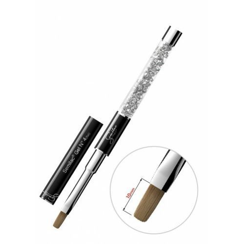 Semilac diamond cosmetics Semilac gel kolinsky brush 4 flat