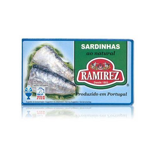 Sardynki portugalskie w sosie własnym Ramirez 125g (5601010211070)
