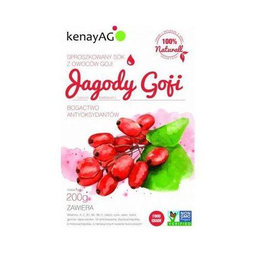Kenay ag Goji - sproszkowany sok z owoców goji (200 g) (5900672151138)