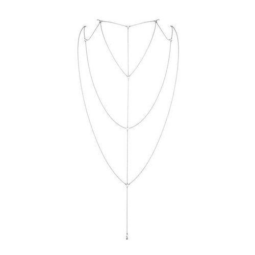 Bijoux indiscrets Łańcuszki na plecy i dekolt - magnifique back & cleavage chain silver