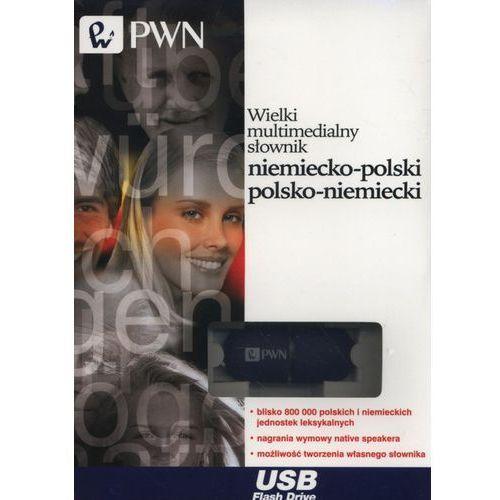 Wielki multimedialny słownik niemiecko-polski polsko-niemiecki Pendrive (2016)