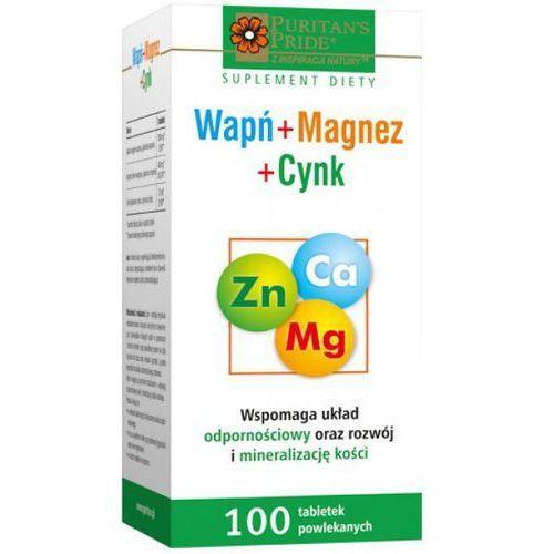 Calmazin Wapń+Magnez+Cynk tabl. 100tabl., produkt z kategorii- Leki na osteoporozę