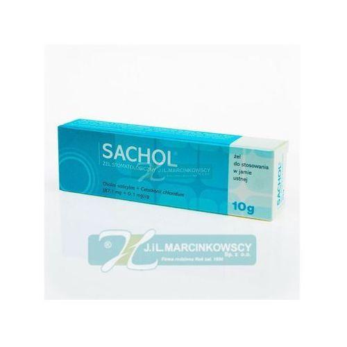 SACHOL żel 10 g (Preparatyna zapalenie dziąseł)