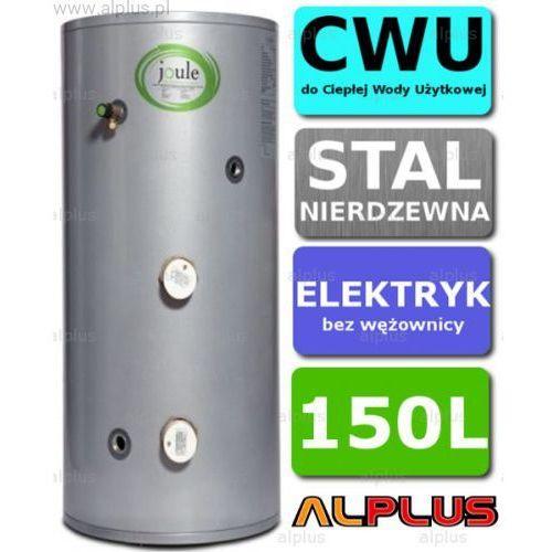 Bojler elektryczny 150L JOULE CYCLONE DIRECT nierdzewka grzałka 2x3kW podgrzewacz CWU bez wężownicy Wysyłka gratis!