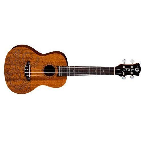 Luna UKE TEC Mah Tattoo ukulele koncertowe