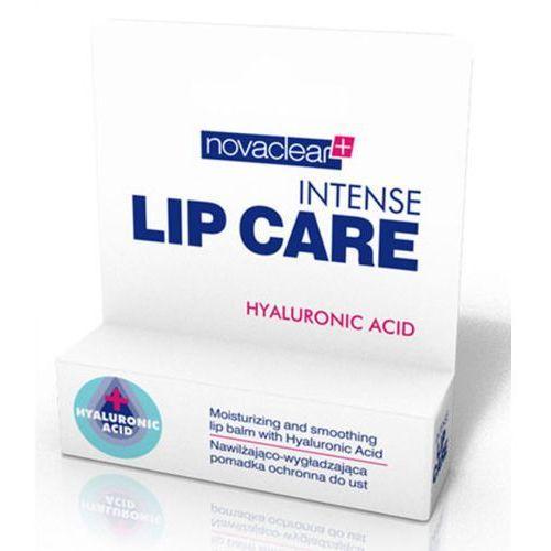 intense lip care nawilżająco-wygładzająca pomadka ochronna do ust marki Novaclear